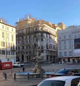 Fontana del Tritone en Roma