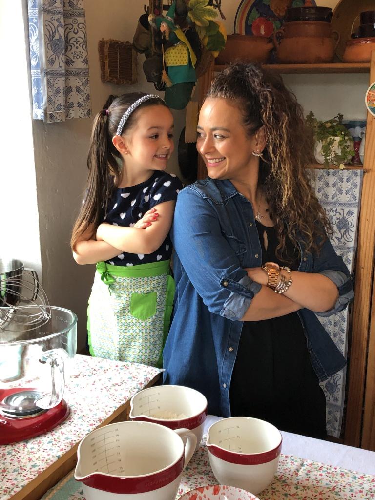 Torta muy fácil de preparar con los niños